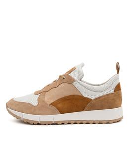 JOYA Sneakers in Latte/ Multi Leather