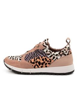 JOYA Sneakers in Rose/ Multi Leather