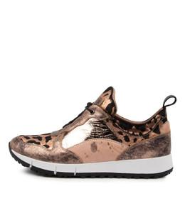 JOYA Sneakers in Copper/ Multi Leather