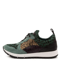JOYA Sneakers in Sage/ Multi Leather