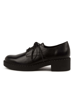 PRAISE Shoes in Black Leather
