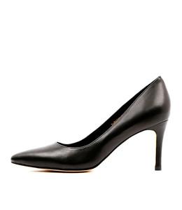 BARRIOS High Heels in Black Leather