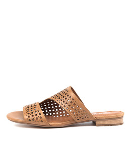 PAVLOVA Sandals in Tan Leather