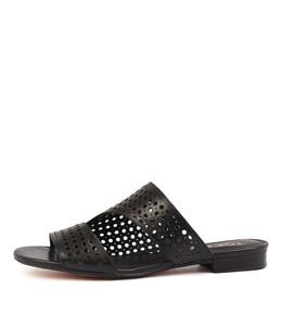 PAVLOVA Sandals in Black Leather