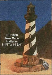 Cape Hatteras Lighthouse With Lamp