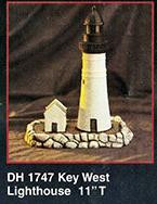 Key West Lighthouse With Light Kit