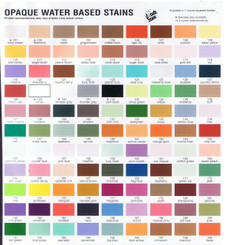 Dona's Hues Opaque stains 2 oz bottles