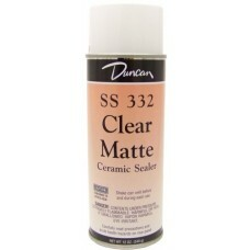 Duncan Clean Matte Spray 12 oz can no fire Glaze