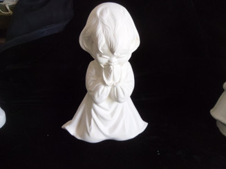 "Little Girl Praying, 7"" Tall"