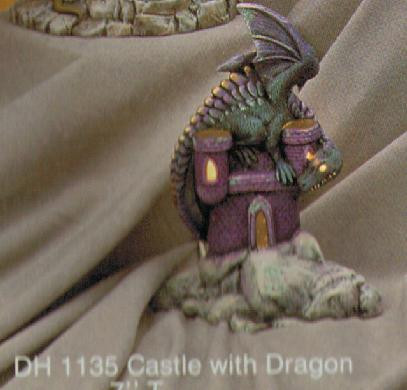 Small Castle with Dragon 8