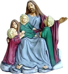 "Jesus with Children, 10.5"" Tall - Doc Holliday 1312"