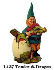 """Gnome """"Tender"""" and """"Muffin"""" 7.5""""T"""