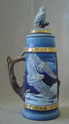 """Stein, Owl with Lid 17""""T"""