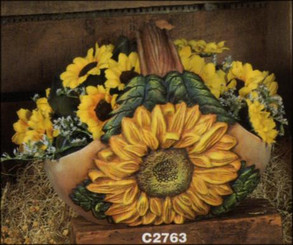 Sunflower Basket / Planter / Flower Pot