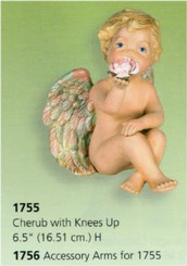Cherub with Knees Up 6.5