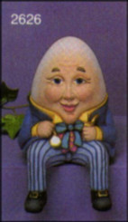 Humpty Dumpty Shelf Sitter - Scioto 2626