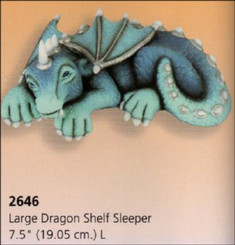 Large Dragon Shelf Sleeper 7.5""