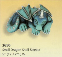 Small Dragon Shelf Sleeper 5""