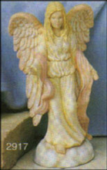 "8"" Victorian Angel stndg arms open"
