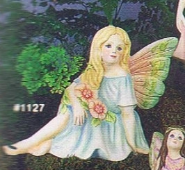 "Alberta 1127 Sarina sitting fairy 5"" high"