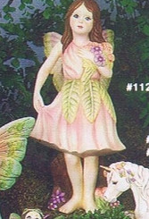 "Alberta 1126 Anthea LARGE fairy 9"" high"