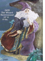 Ravenswood Wizard Ready to Paint Ceramic Bisque Gare 2439