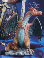 Wyvern Dragon Ready to Paint Ceramic Bisque Gare 2441