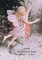 Impatience Fairy Ready to Paint Ceramic Bisque Gare 2599