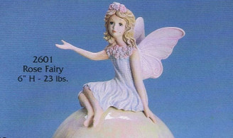 Rose Fairy Ready to Paint Ceramic Bisque Gare 2601