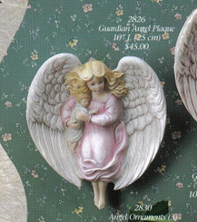 Gare 2826 Angel Wall Plaque