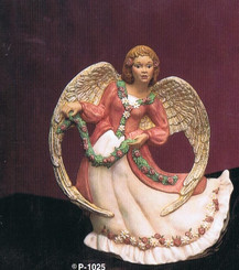 "Provincial 1025 Summer angel 9"" high   ceramic bisque ready to paint"