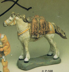Provincial  598 Packhorse on base  ceramic bisque ready to paint