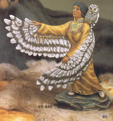 Native American Owl Spirit, Provincial 844