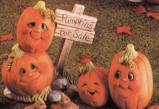 Ceramic Bisque Pumpkins for Sale Donas Mold  Ready To Paint