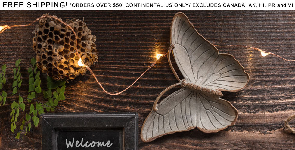 Zinc Butterfly