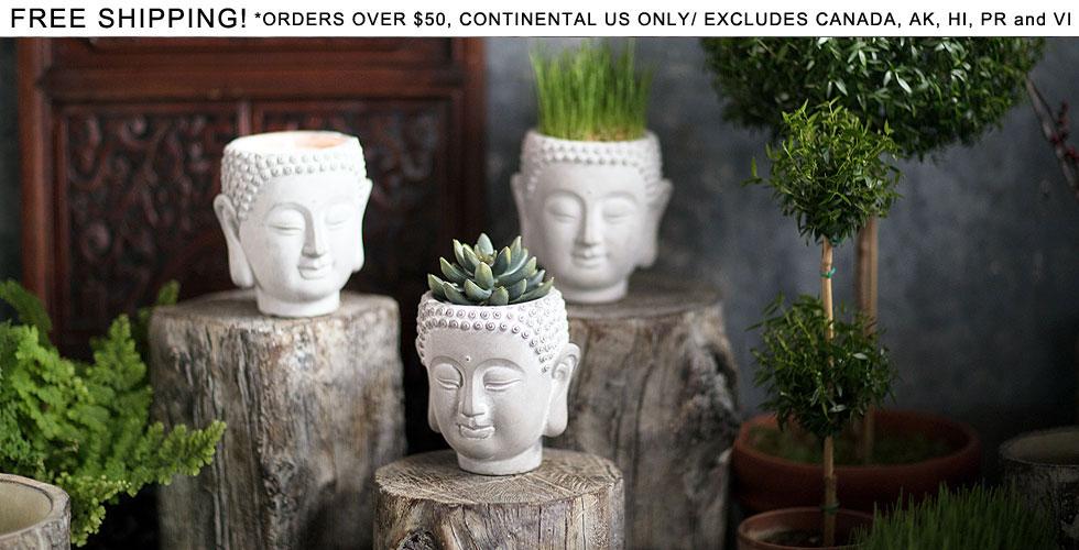 Small Buddha Planter