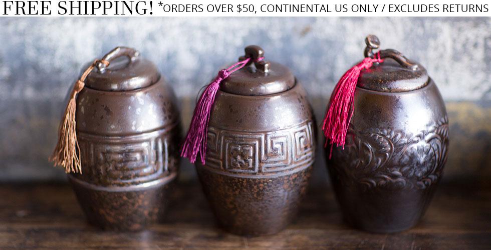 Ceramic Tea Containers