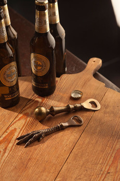 Claw Accent Brass Bottle Opener