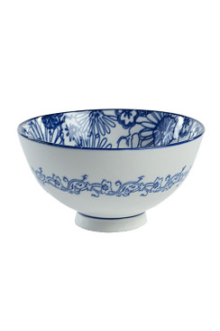 Blue and White Bowl - OC-BOWL-S4B