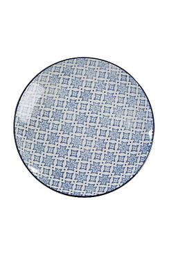 Blue and White Round Plate - OC-RDPLT-S4C