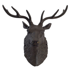 Cast Iron Buck Head