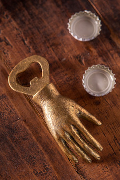 Iron Hand Bottle Opener