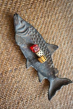 Cast Iron Fish Dish