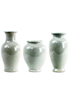 Ceramic White Vases