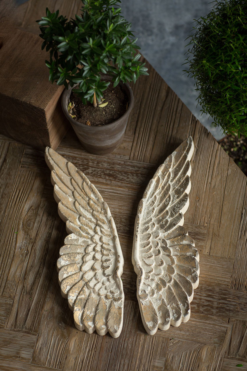 Hand Carved Wooden Angel Wings Mothology Com