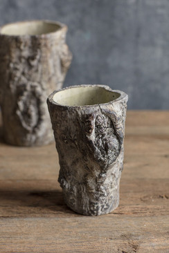 Tree Trunk Planter - Small