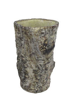 Tree Trunk Planter - Medium
