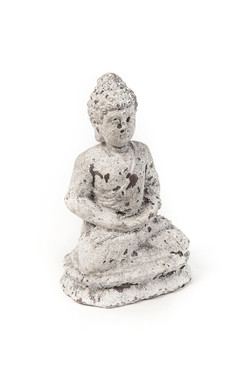 Cement Seated Buddha
