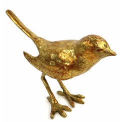 Large Solid Cast Iron Bird Sculpture