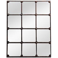 Cast Iron Rectangle Mirror